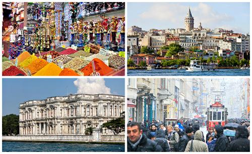 Istanbul kolaž